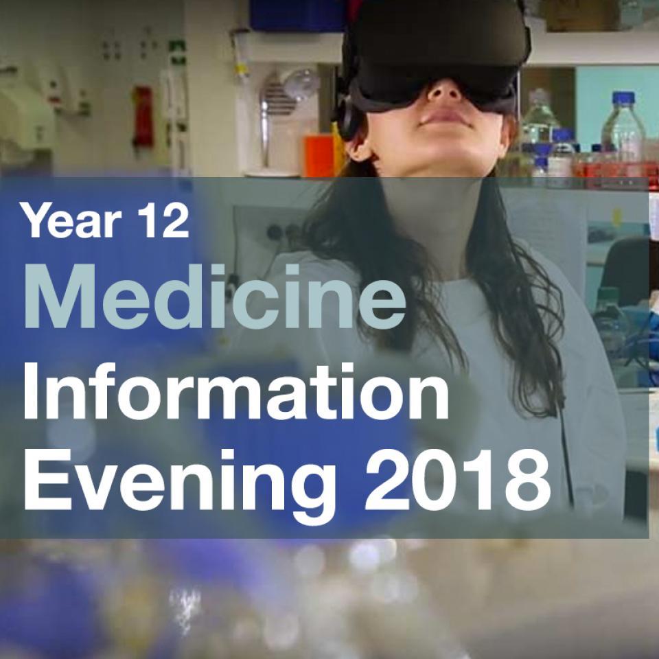 year 12 medicine banner