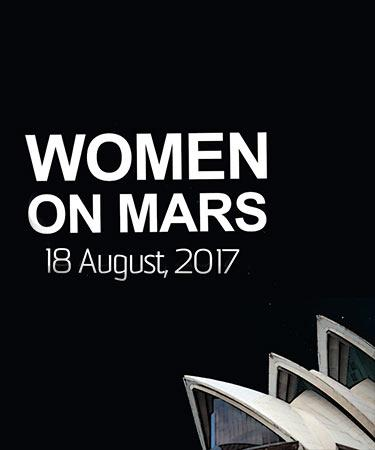 UNSW Science Week Women On Mars Opera House